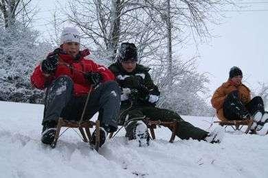 Wintersportcamp im Vogtland  (Ferienlager)