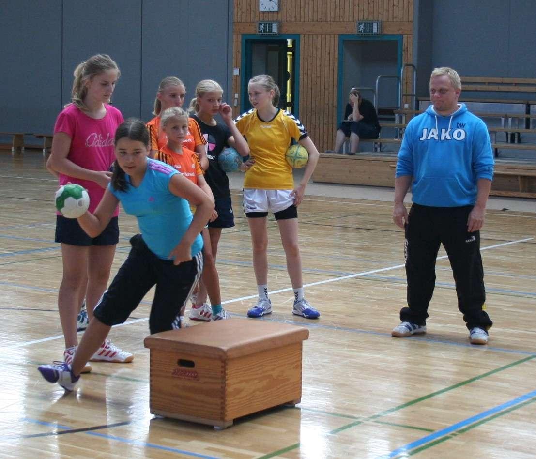 eins energie in sachsen Handballcamp