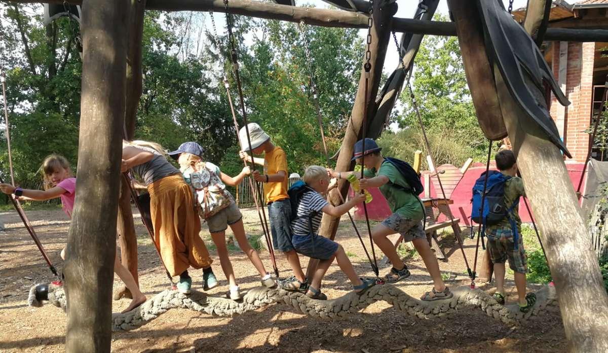Abenteuer-Natur-Camp - Ferien auf der Kulturinsel Einsiedel