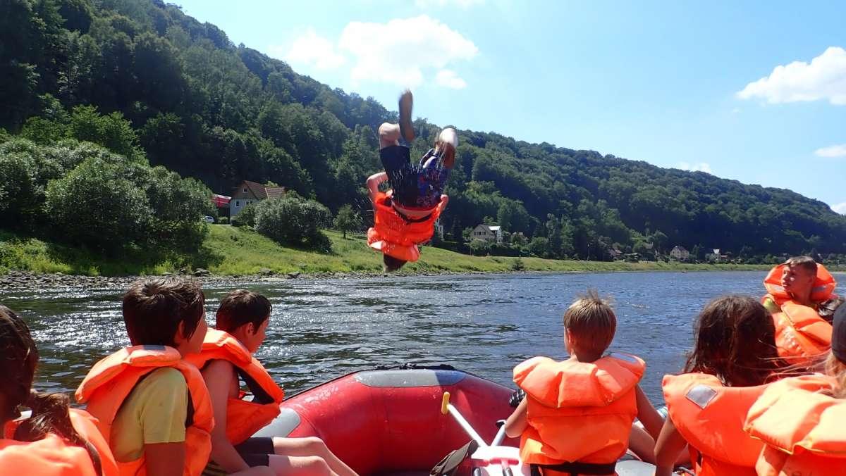 Abenteuerferienlager Feriencamp im Elbsandsteingebirge