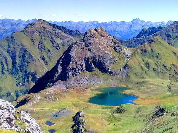 3-Länder Gipfelstürmer Bergtour durchs Rätikon 2021