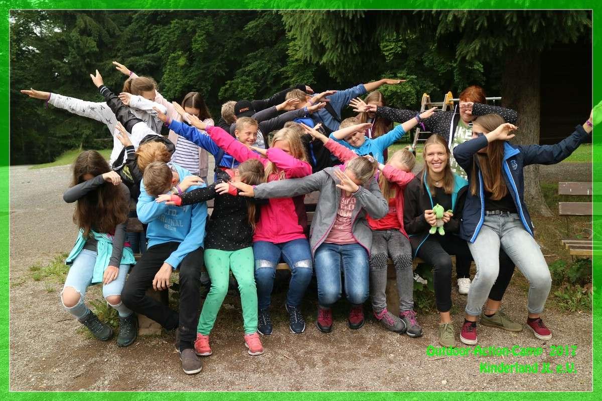 Outdoor-Action-Camp  (Ferienlager)