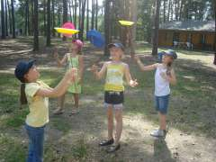 Spiel, Spaß, Action  (Ferienlager)