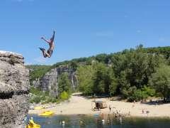 Kanu- und Klettercamp in Frankreich (Jugendcamp)