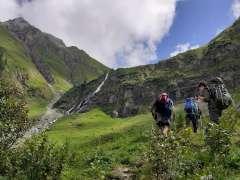 """Alpenüberquerung """"Zu Fuß über die Alpen"""""""