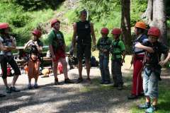 Kletter- & Outdoorabenteuer  (Feriencamp)