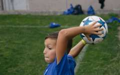 International Camp (English, French, German): Football