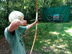 Wildes Indianer Sommercamp