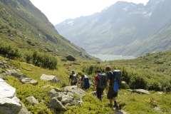 Trekking in den Schweizer Alpen - Von Hütte zu Hütte