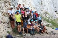 Klettercamp im Donautal